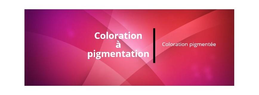 Colorations pigmentées