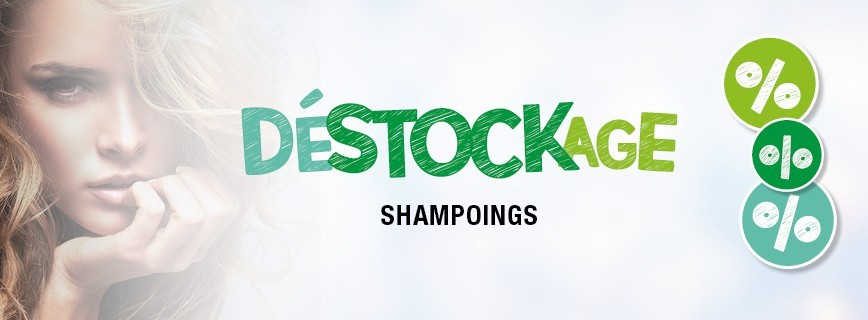 Déstockage Shampoings