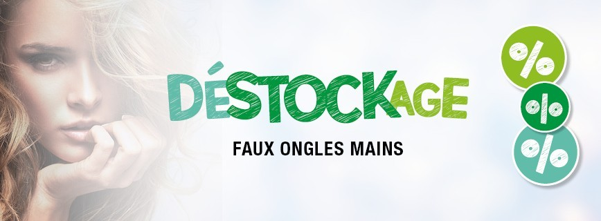 Déstockage Faux Ongles Mains